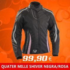 CAZADORA Quater mile SHIVER LADY NEGRO/ROSA