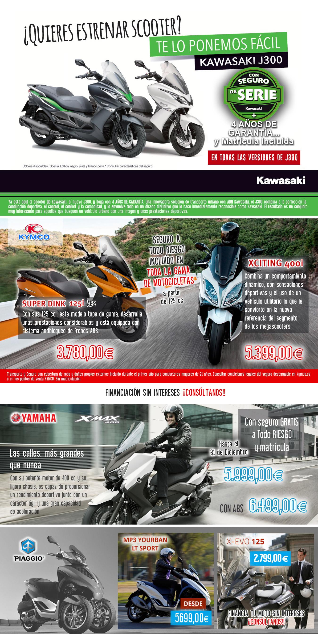 scooters y megascooters en madrid