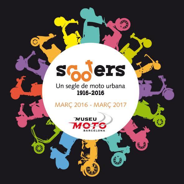 SCOOTERS,  un siglo de moto urbana