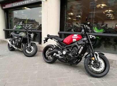 Comparativa Kawasaki Z900RS vs Yamaha XSR900