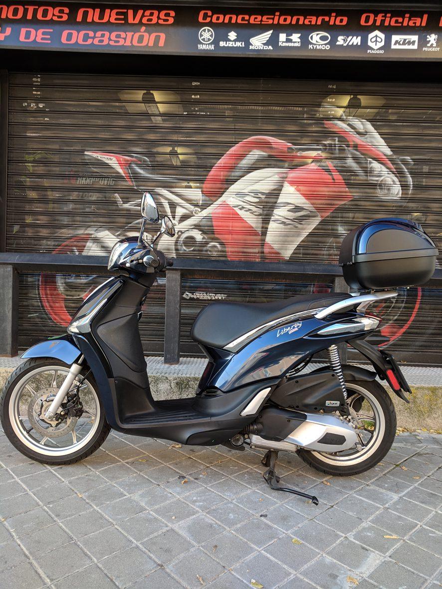 Piaggio Liberty 125 - Arimany Motor