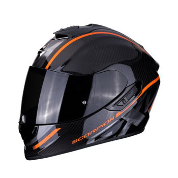 Casco Scorpion Exo 1400 Air Carbon Grand Naranja