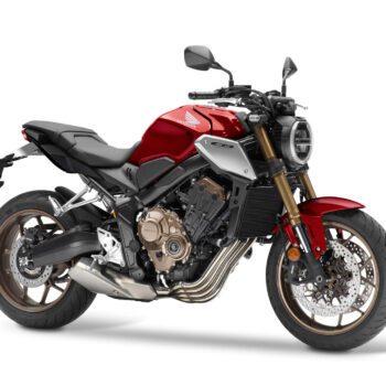 01 Honda Cb650r 2021 Estudio Rojo