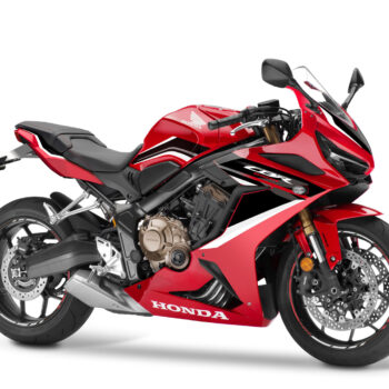 01 Honda Cbr650r 2021 Estudio Rojo