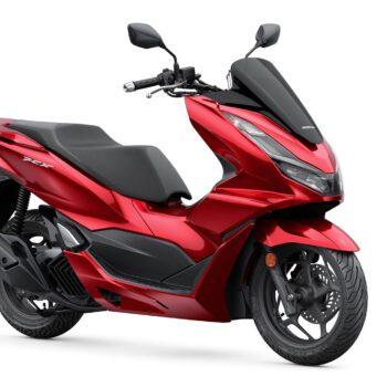 01 Honda Pcx125 2021 Estudio Rojo