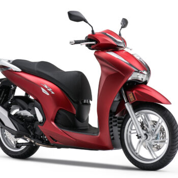 01 Honda Sh350 2021 Estudio Rojo
