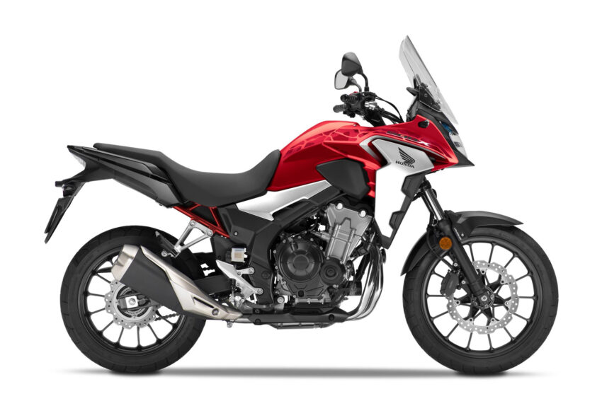 02 Honda Cb500x 2021 Estudio Rojo