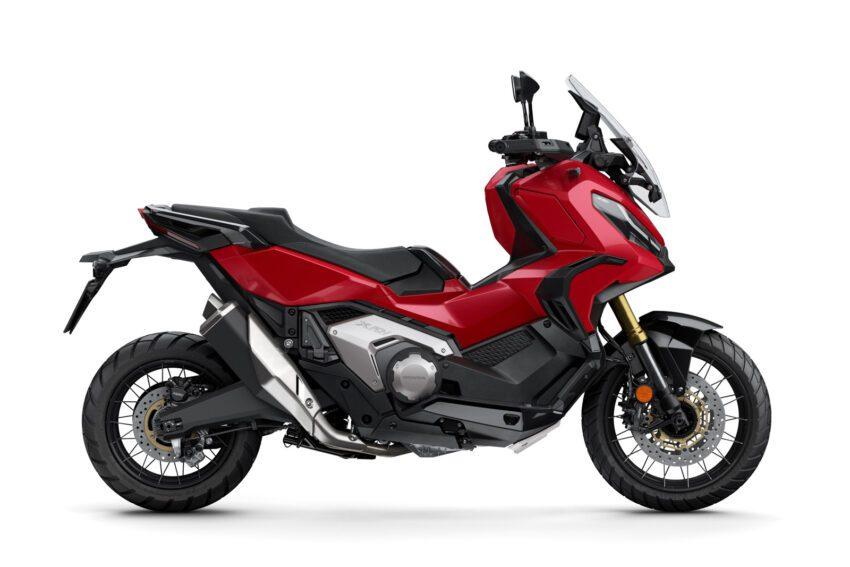 02 Honda X Adv 2021 Estudio Rojo