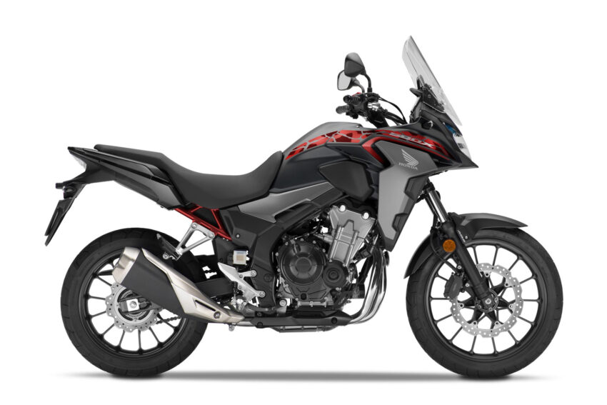 03 Honda Cb500x 2021 Estudio Negro