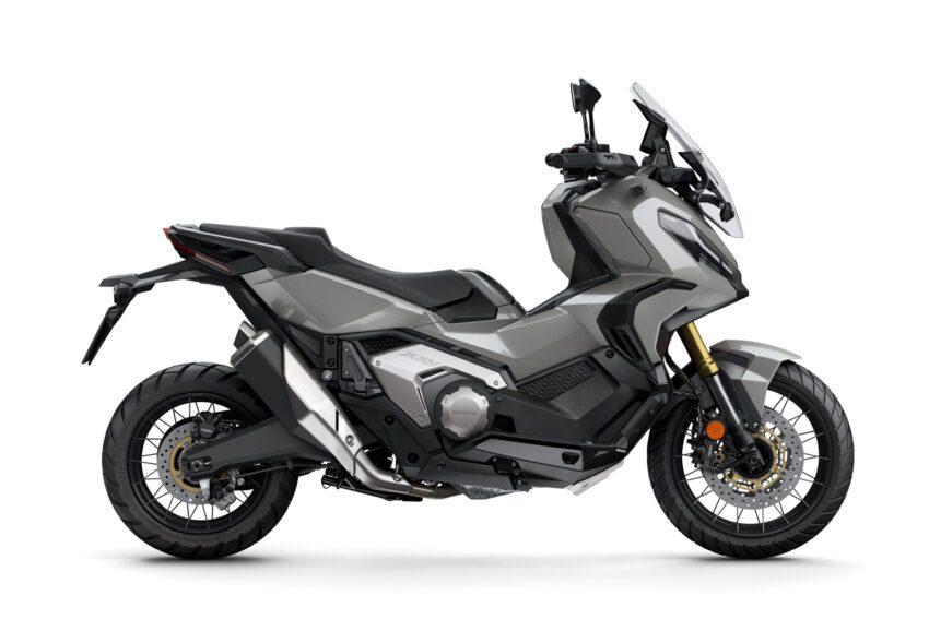 03 Honda X Adv 2021 Estudio Gris