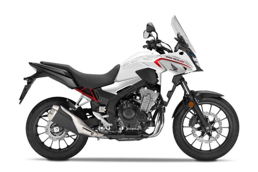 04 Honda Cb500x 2021 Estudio Blanco