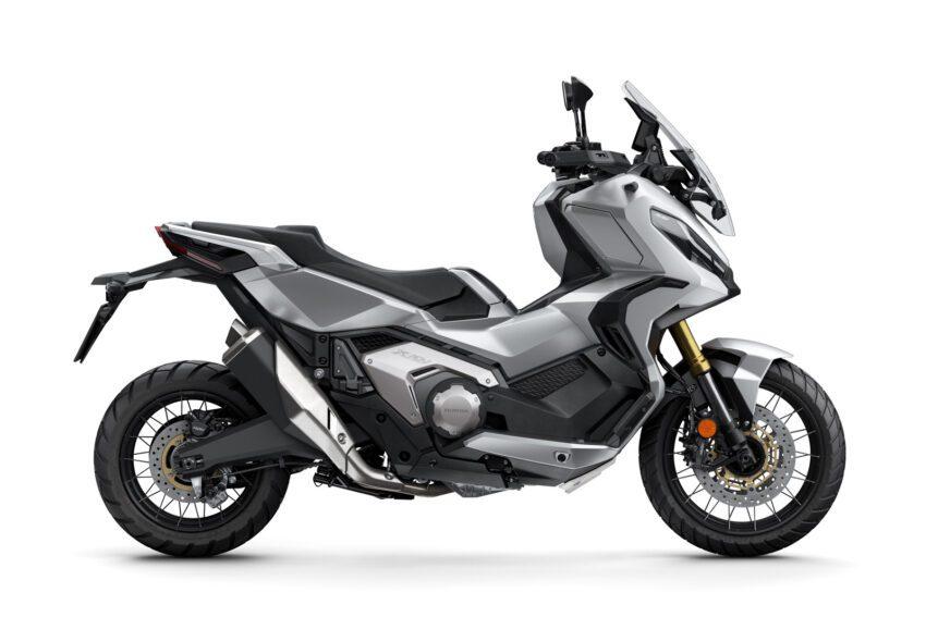 04 Honda X Adv 2021 Estudio Plata