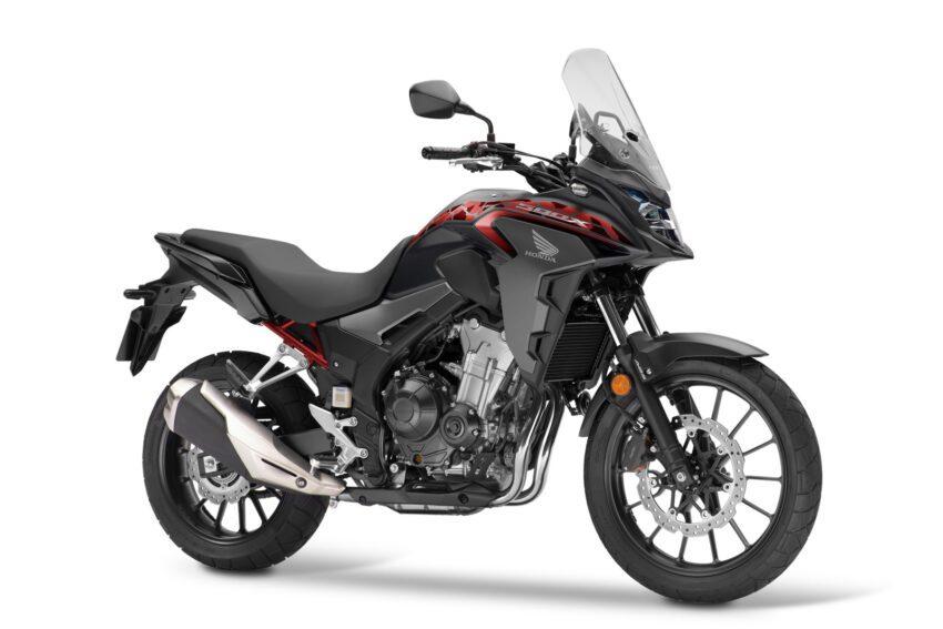 05 Honda Cb500x 2021 Estudio Negro