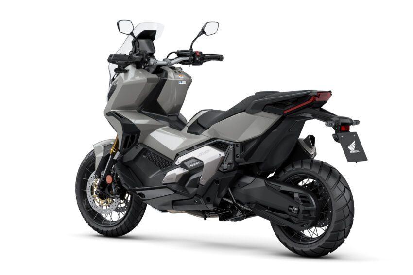 9 Honda X Adv 2021 Estudio Gris