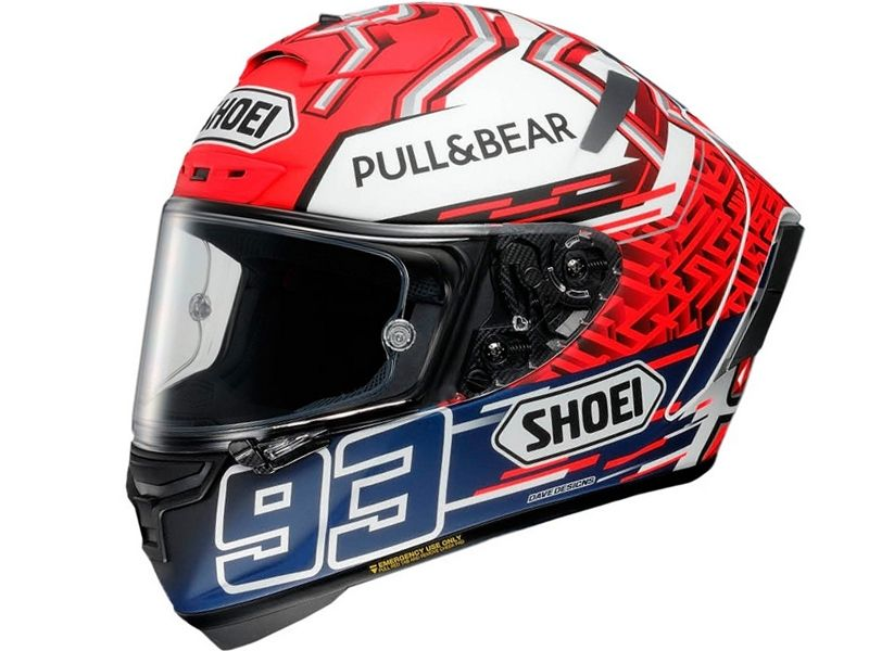 Casco Shoei X Spirit 3 Marquez 5