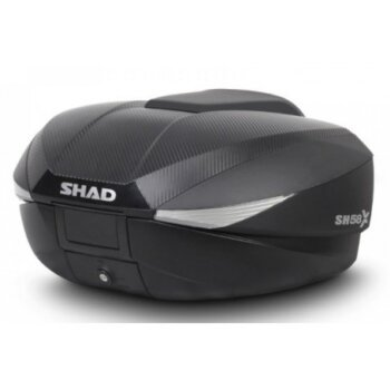 shad sh58x con tapa en carbono expandible de 43 a 58 lts 3 maletas en 1