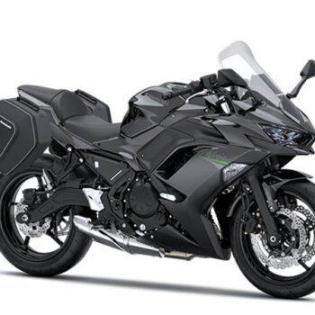2021 ninja 650 tourer bk1 front