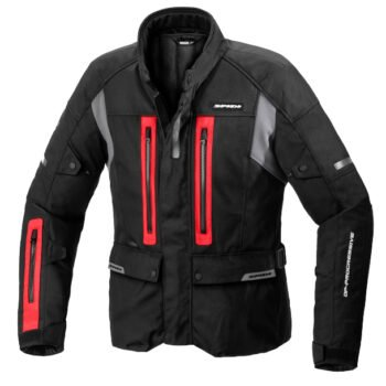 spidi traveler 3 h2out red